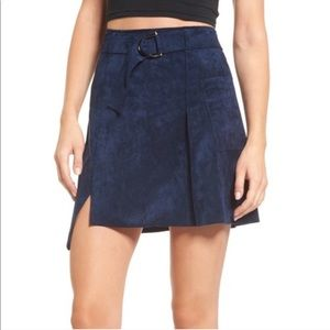 Nordstrom J.O.A. Faux Suede Skirt